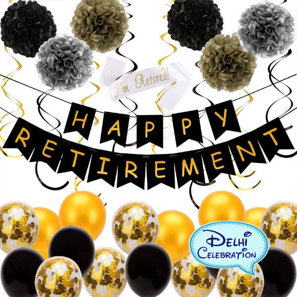 Retirement Party Decorations in Delhi