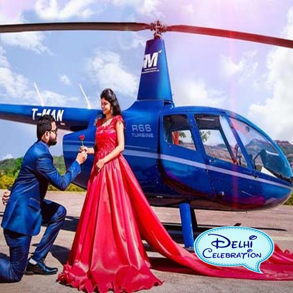 helicopter rent price in Delhi, Noida