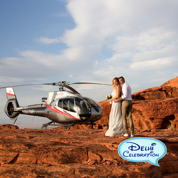 Load Metrics (uses 6 credits) KEYWORD helicopter ride in Delhi