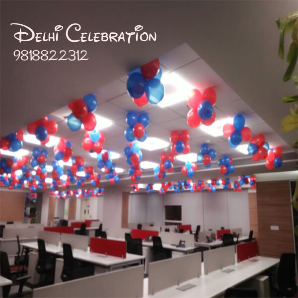 Office Balloon Decoration in Delhi NCR