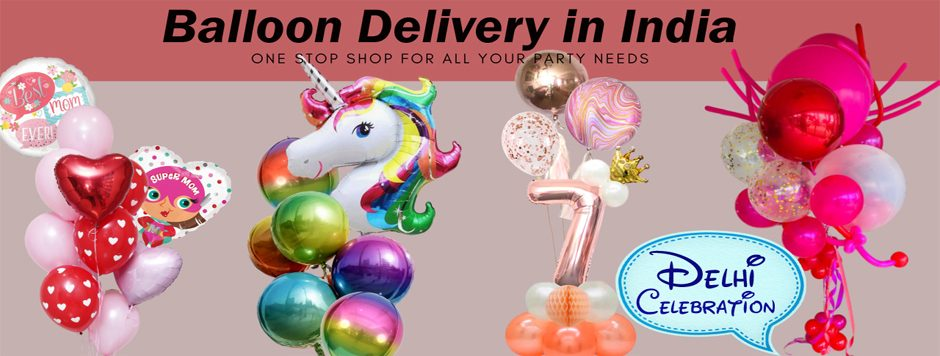 online balloon delivery in Delhi ncr